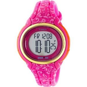 Timex TW5M03000 Ironman Women's Pink Silicone Band
